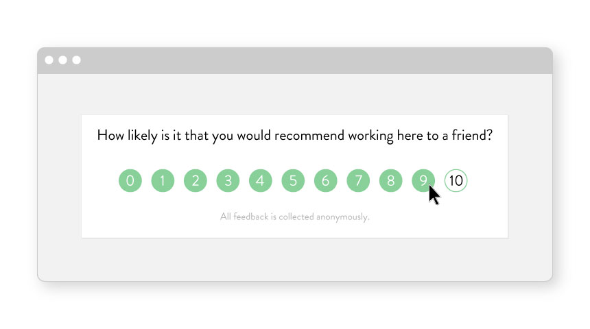 How to calculate Employee Advocacy with NPS-style Surveys
