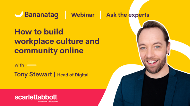 [Webinar] How to build workplace culture and community online