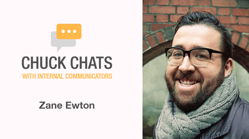 Chuck Chats The Power of Internal Podcasts with Zane Ewton, Communications Consultant with Arizona Public Service