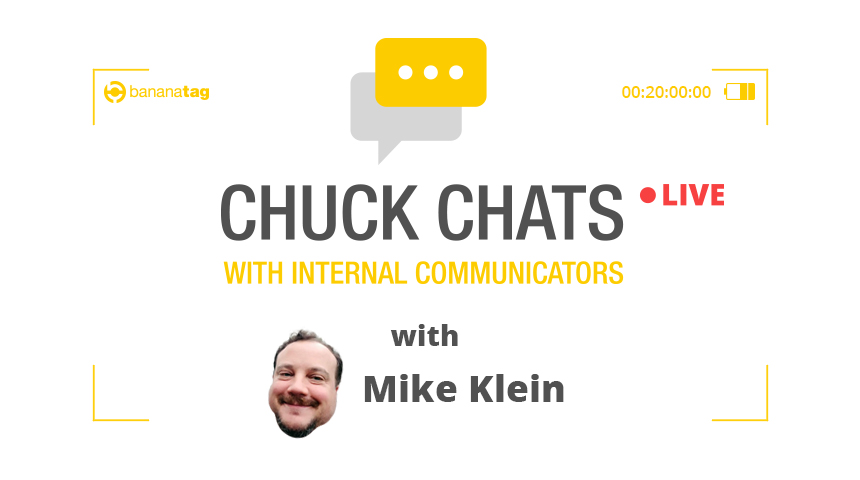 Chuck Chats Communications Career Advice with Mike Klein, Principal of Changing the Terms [Video]