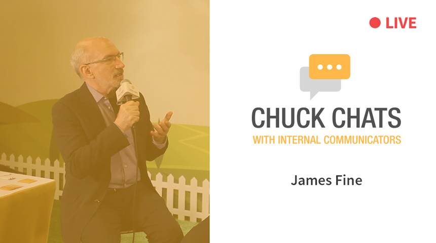 Chuck Chats with James Fine LIVE from IABC World Conference 2018 [Video]