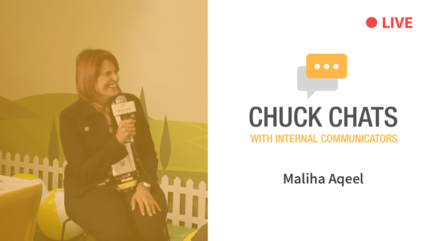 Chuck Chats with Maliha Aqeel LIVE from IABC World Conference 2018 [Video]