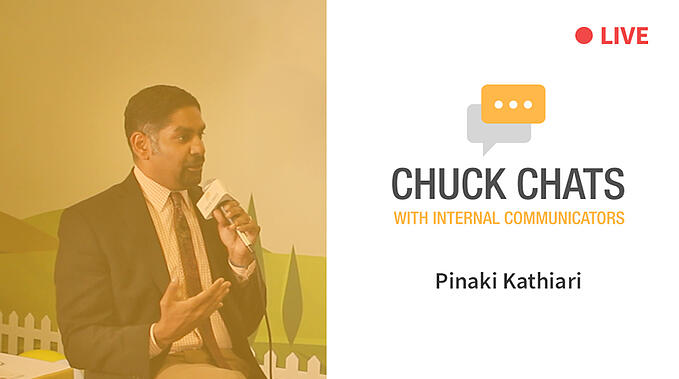 Chuck Chats with Pinaki Kathiari LIVE from IABC World Conference 2018 [Video]