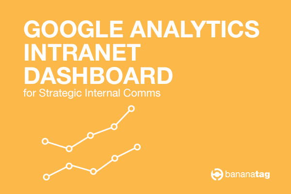 Google Analytics Dashboard Template for your Intranet