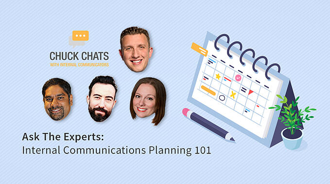 Ask The Experts: Internal Communication Planning 101