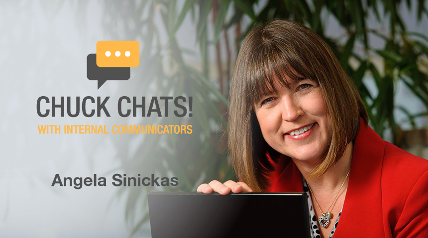 Chuck Chats Measuring Internal Comms before it was Cool with Angela Sinickas, Sinickas Communications
