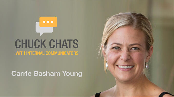 Chuck Chats ESNs, Corporate Fiefdoms and Getting Execs to Participate with Carrie Basham Young, Talk Social To Me