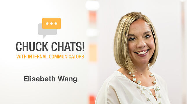 Chuck Chats Healthcare Comms, Social, and Grits with Elisabeth Wang, Executive Director of Communications and PR