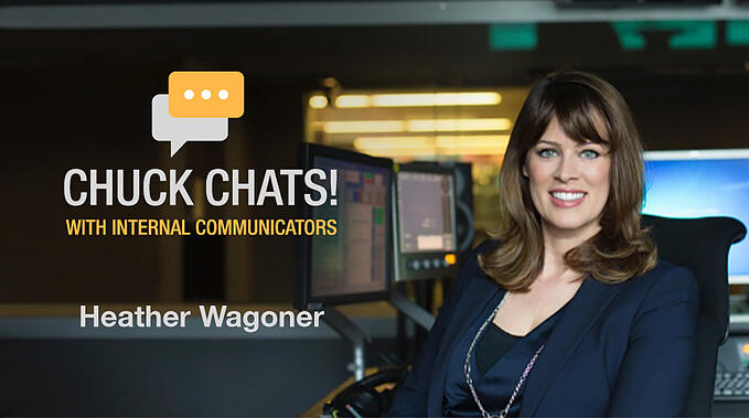 Chuck Chats Celebrating Success, the Employee Experience, and Yammer with Heather Wagoner, BBC