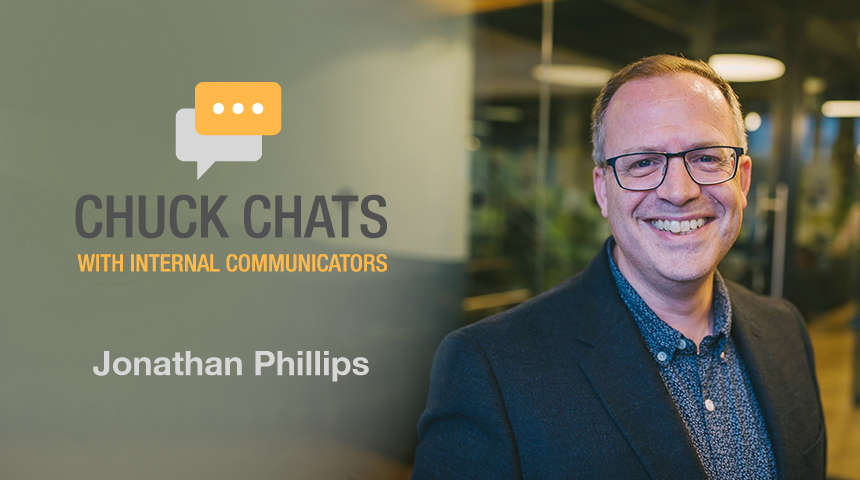 Chuck Chats Digital Workplaces and Shadow IT with Jonathan Phillips, Founder of ClarityDW