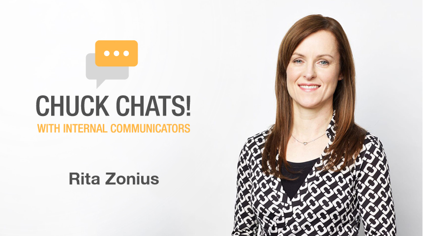 Chuck Chats Twitter and Enterprise Social Networks with Rita Zonius, Australia and New Zealand Banking Group (ANZ)