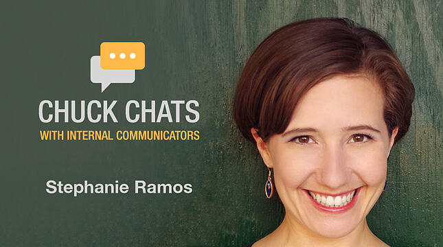 Chuck Chats Communicating to Nurses and Physicians with Stephanie Ramos, Communications Manager at Mount Sinai Health System
