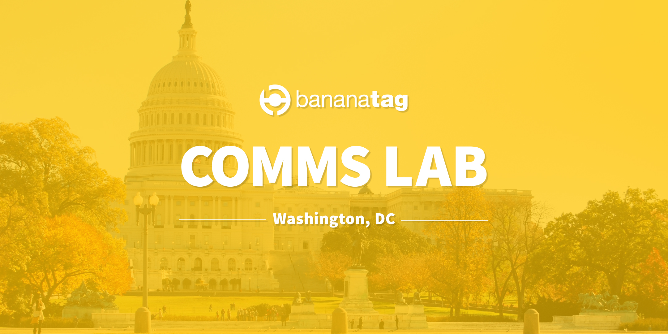 Join us at Comms Lab in Washington, DC [August 20th, 2019]