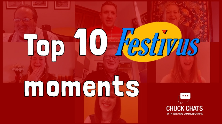 Our Top 10 Favorite Moments from The ChuckChats Festivus Webinar