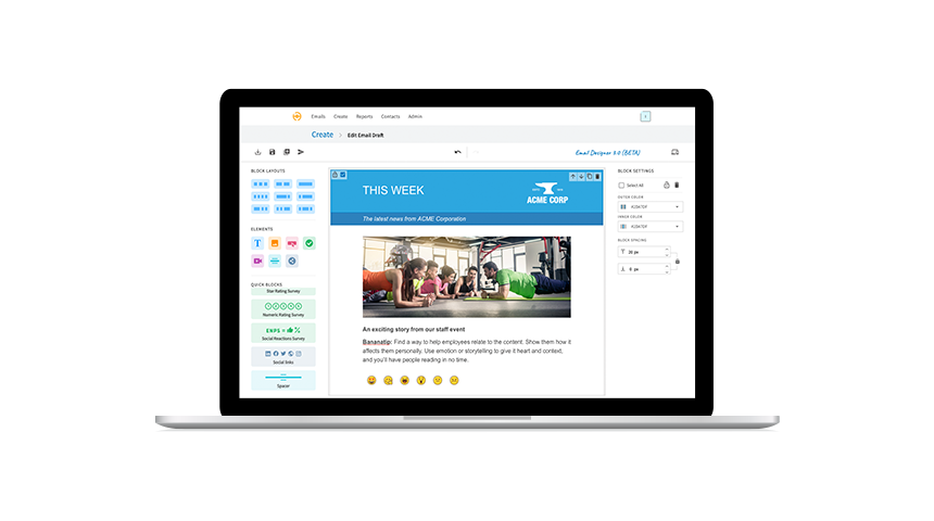 New: The Email Designer 3.0 for Modern and Responsive Internal Communications in Outlook and Gmail